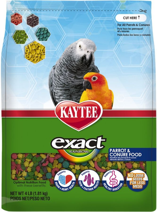 Kaytee Exact Rainbow Daily Diet - Parrot & Conure