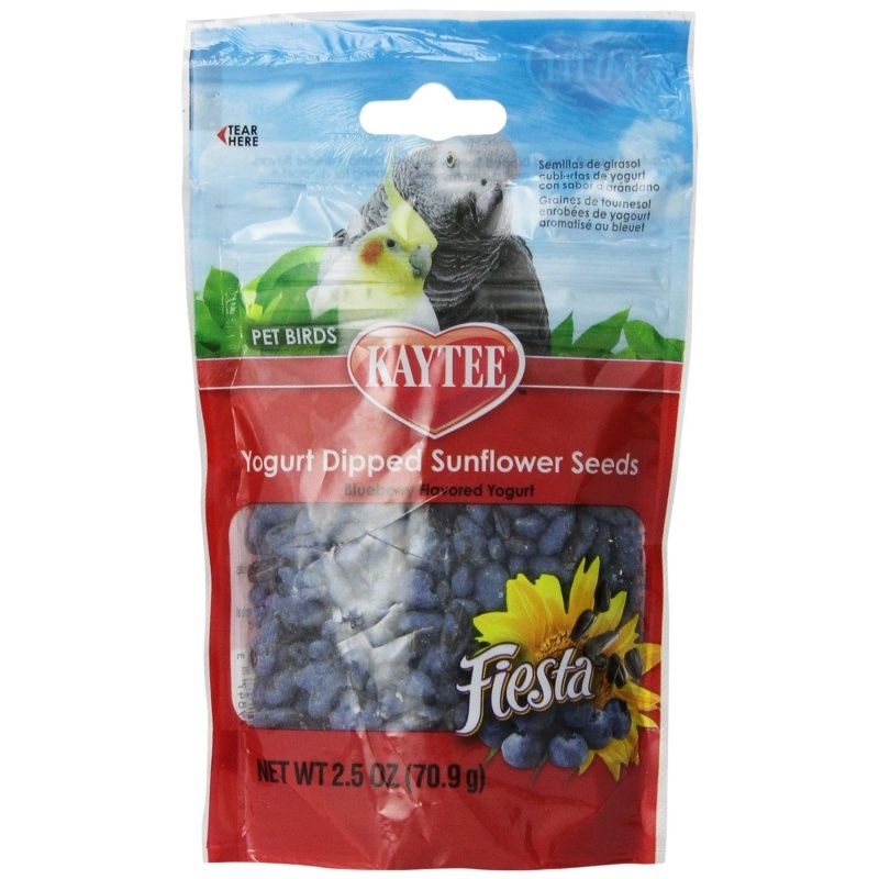 Kaytee Fiesta Yogurt Dipped Sunflower Seeds - Blueberry