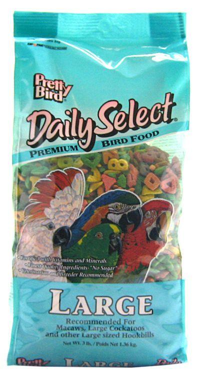 Pretty Bird Daily Select Premium Bird Food
