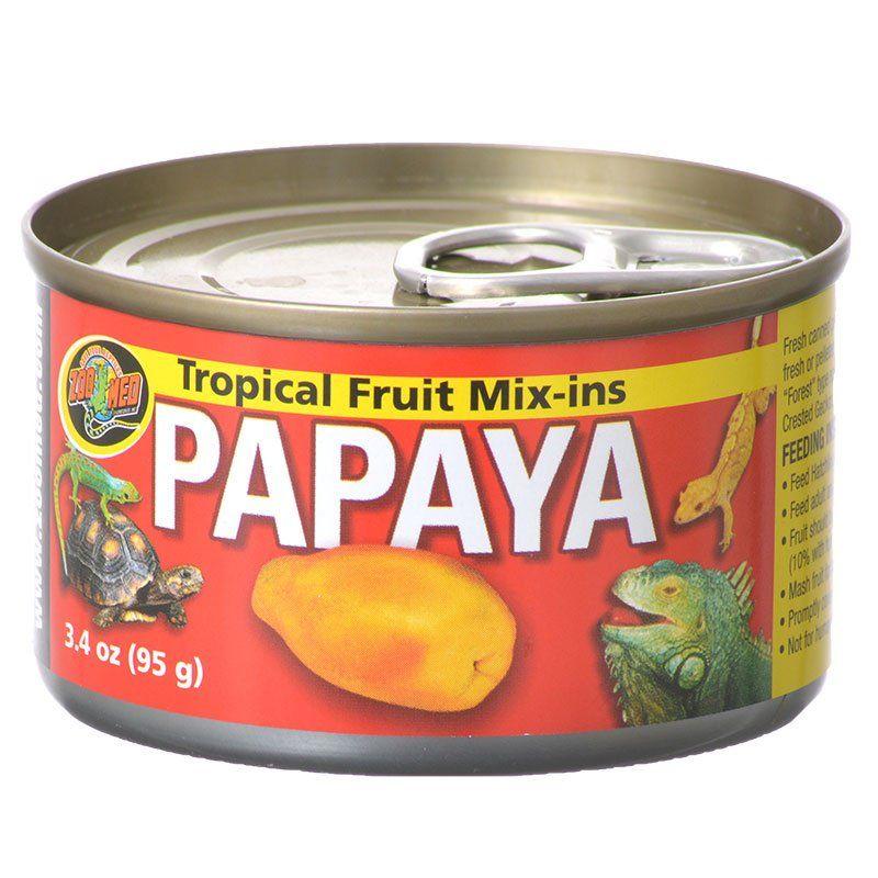Tropical Friut Mix-ins Papaya Reptile Treat
