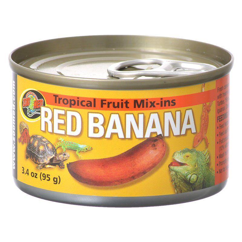 Tropical Friut Mix-ins Red Banana Reptile Treat