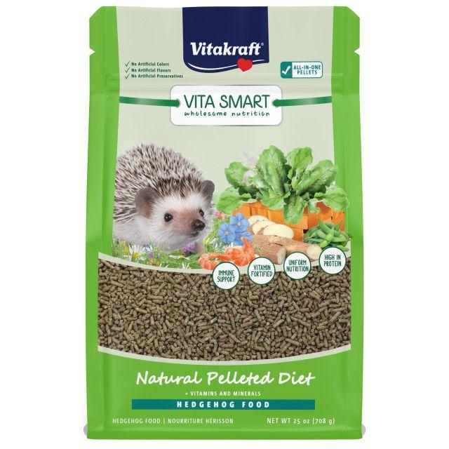 Vitakraft VitaSmart Hedgehog Food - High Protein Insect Formula - 25 oz