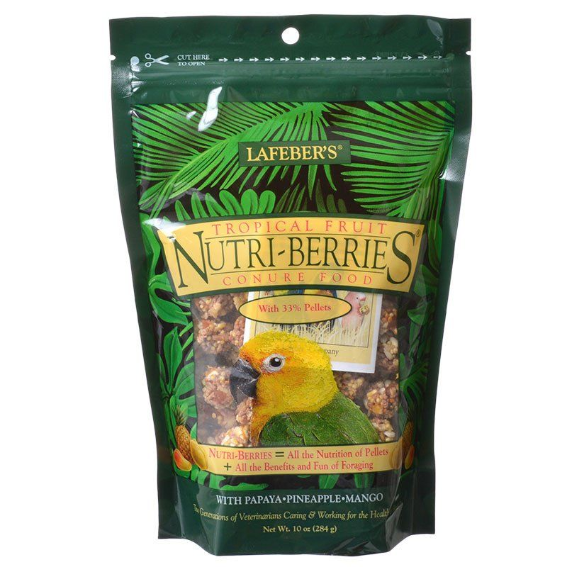 Lafeber Tropical Fruit Nutri-Berries Conure Food