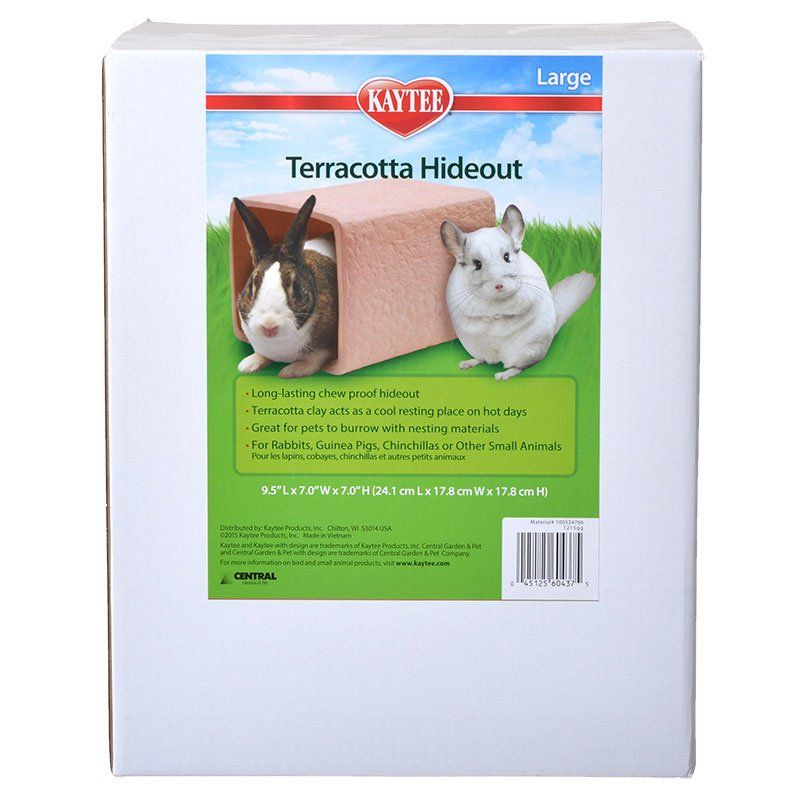 Kaytee Terracotta Hideout for Small Pets
