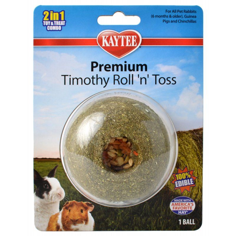Kaytee Premium Timothy Roll 'n' Toss