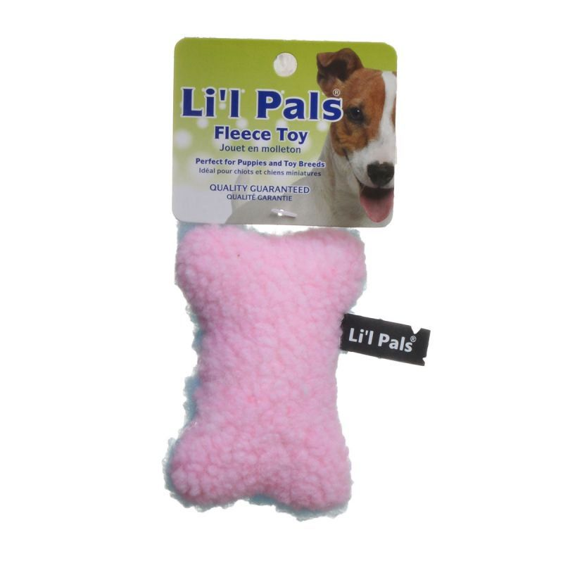 Lil Pals Lil Pals Fleece Bone Toy For Dogs Puppies Toys