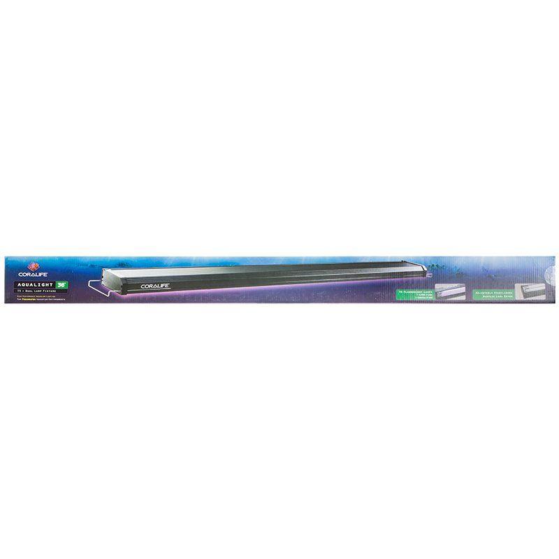 Coralife Aqualight T5 Dual Fluorescent Light Fixture For