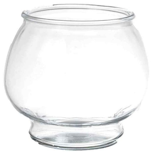 Anchor hocking anchor hocking footed fish bowl bowls glass for Fish bowl cups