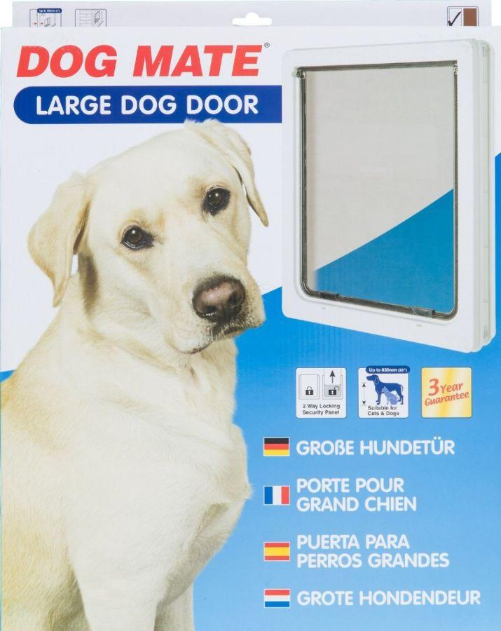 Dog Mate Dog Mate Multi Insulation Dog Door White Doors Panels