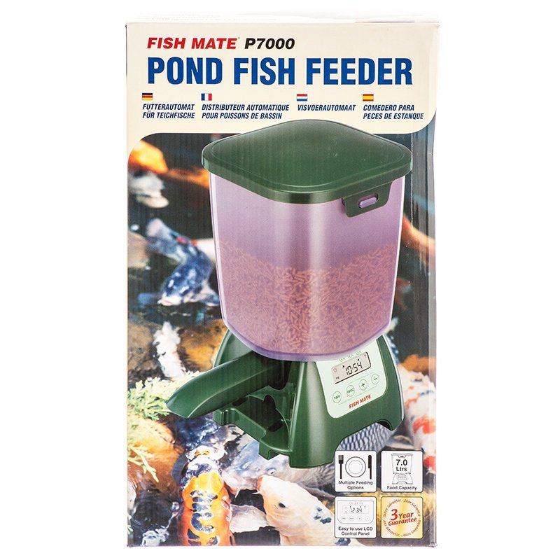 Fish Mate Fish Mate Pond Fish Feeder P7000 Fish Feeders