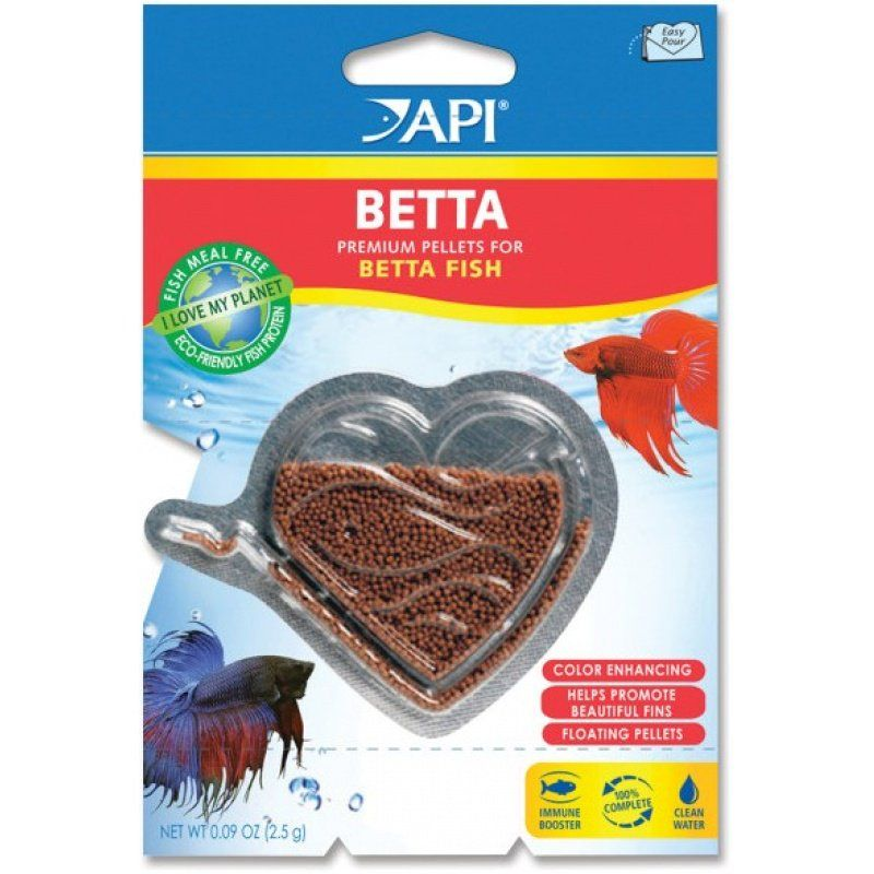 Api api betta premium pellets for betta fish food foods for Fish food pellets