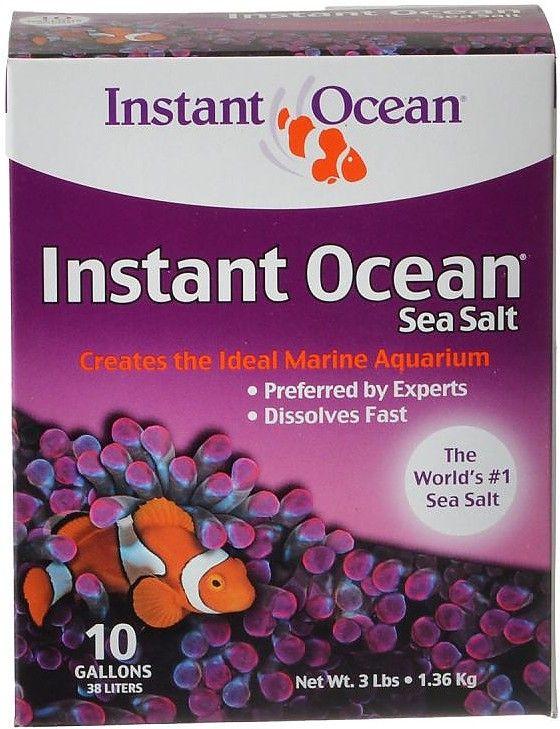 Instant Ocean Salt Chemistry : Instant ocean sea salt