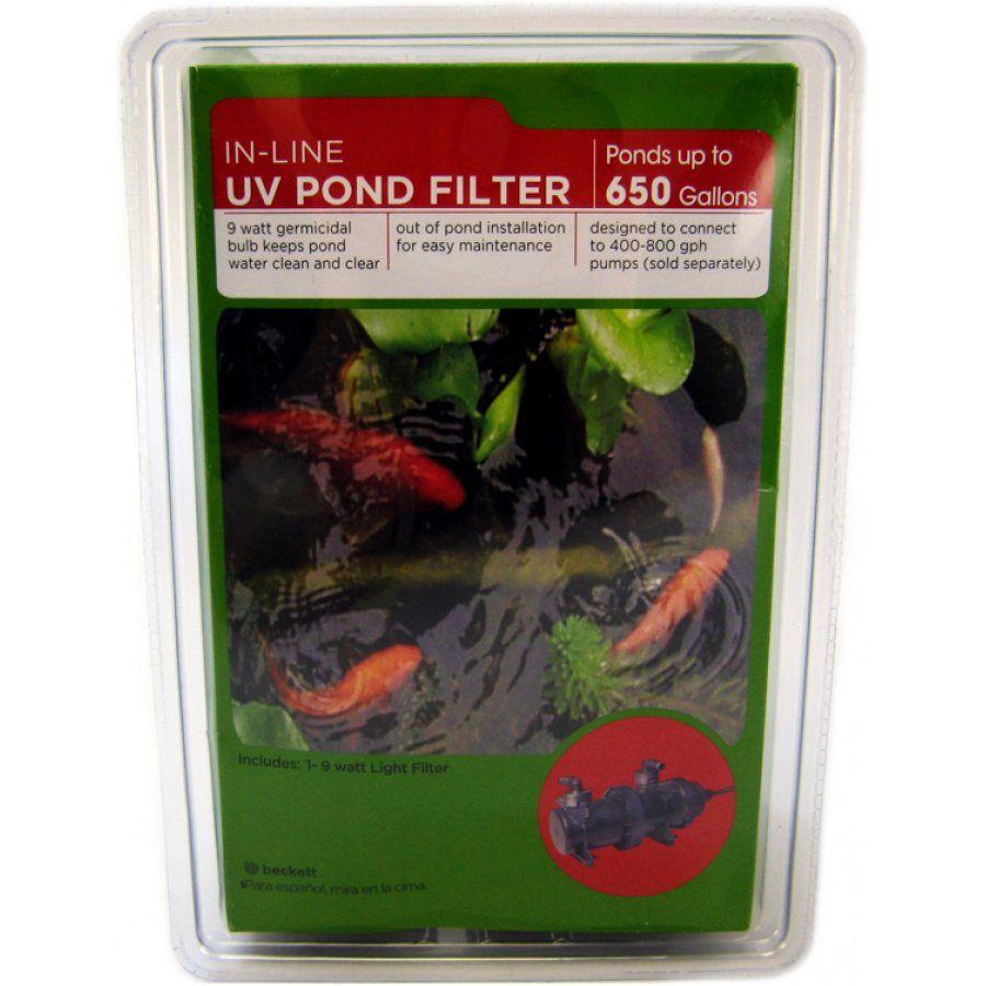 Hook up uv light pond