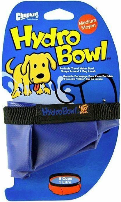 Chuckit Chuckit Hydro Bowl Travel Water Bowl Waterers