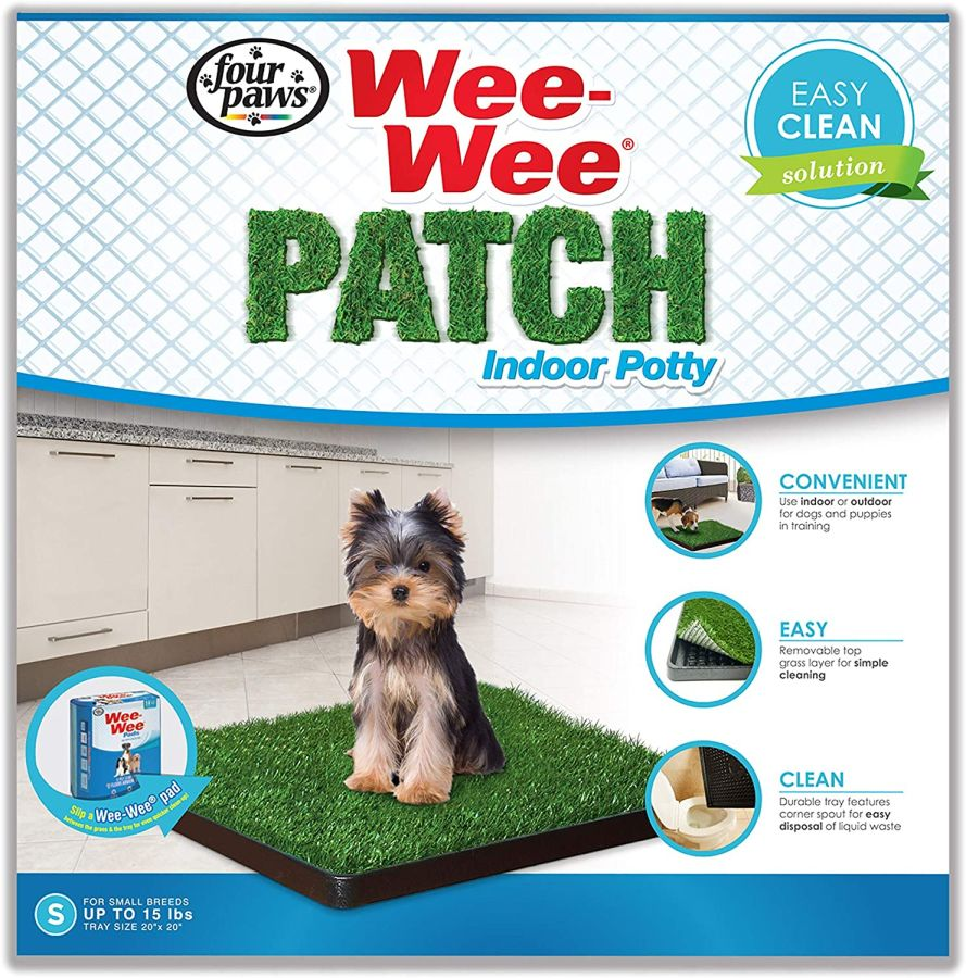Dog Training Placemat: Four Paws Four Paws Wee Wee Patch Indoor Potty