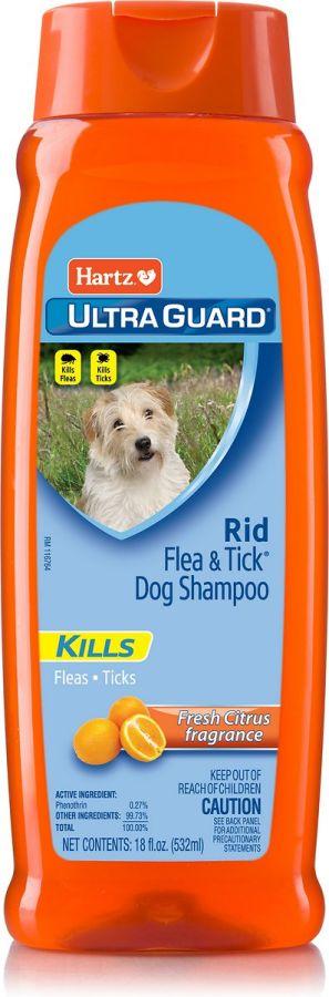 Hartz Hartz Ultraguard Citrus Rid Flea Amp Tick Shampoo Flea