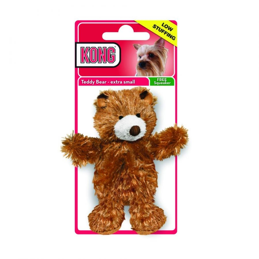 Kong Kong Plush Teddy Bear Dog Toy Toys Sheepskin Amp Cloth