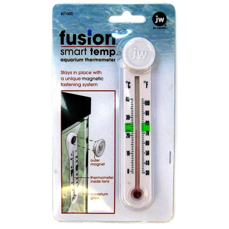 Jw pet jw fusion smart temp aquarium thermometer for Aquarium thermometer