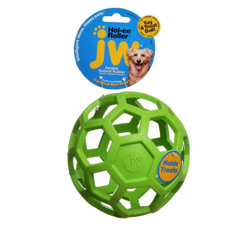 Jw Pet Jw Pet Hol Ee Roller Rubber Dog Toy Assorted Toys