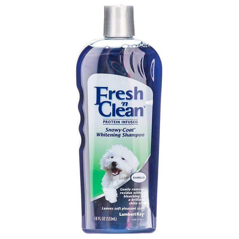 Fresh 'n Clean Snowy Coat Whitening Shampoo - Sweet Vanilla Scent