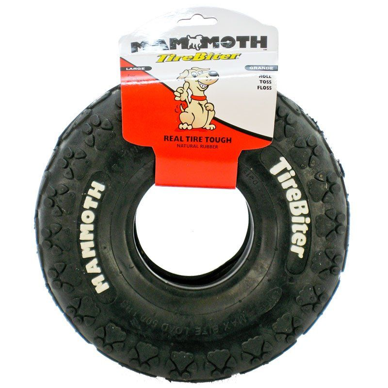 Rubber Tire Dog Toy