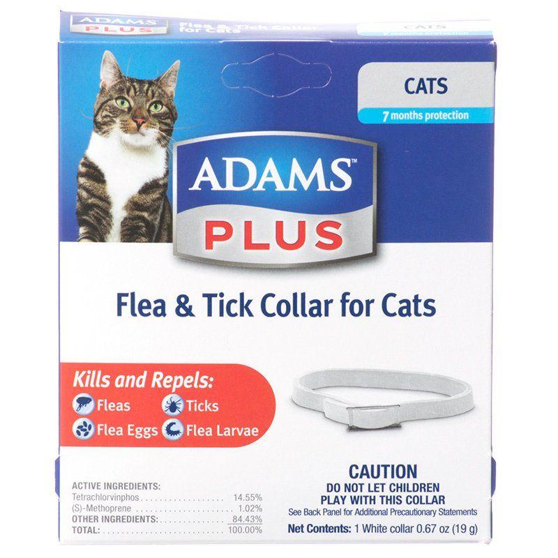 Adams Adams Plus Breakaway Flea Amp Tick Collar For Cats