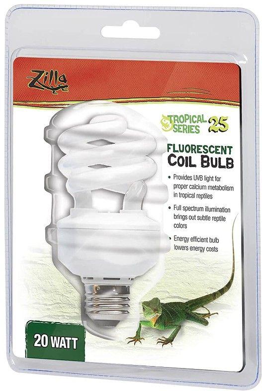zilla zilla tropical uv coil lamp lighting incandescent