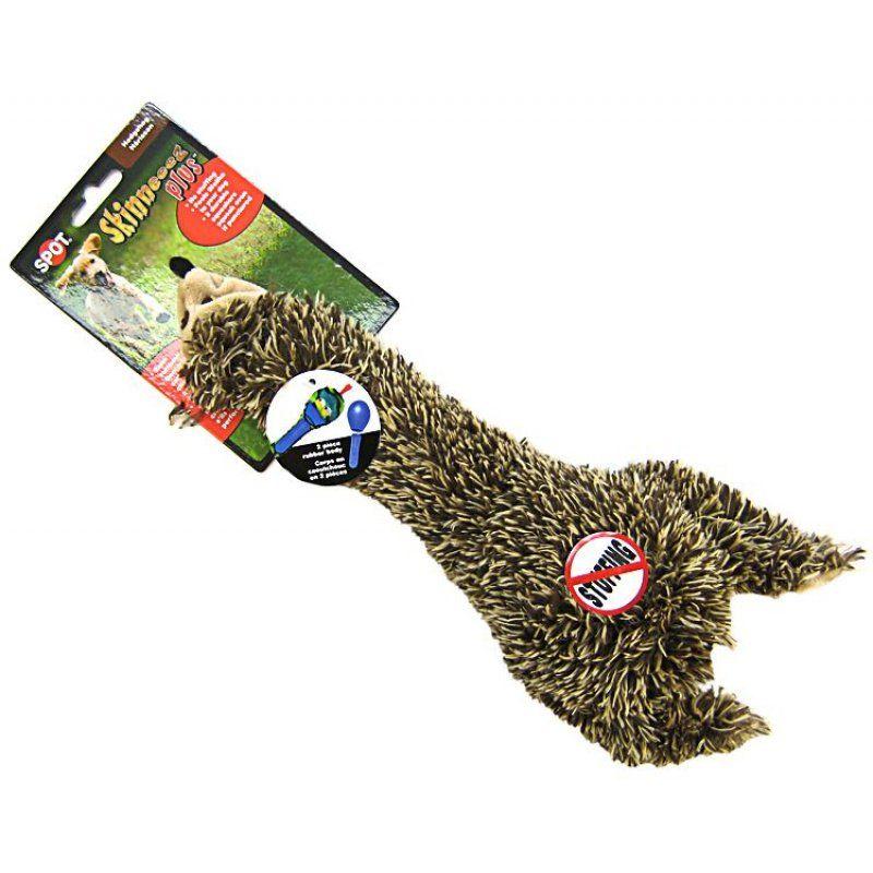 Even-Spotted Squeaker : Spot Spot Skinneeez Plus Plush Hedgehog Dog Toy Toys Sheepskin & Cloth