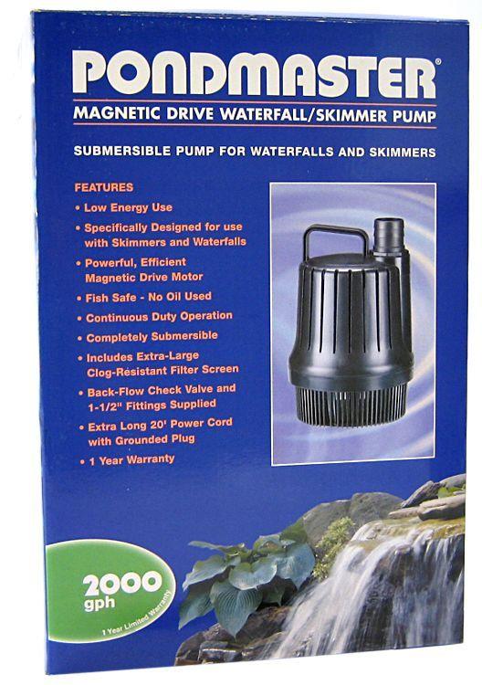 Pondmaster Pondmaster Magnetic Drive Waterfall Pump Water