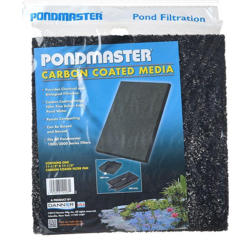 Pondmaster pondmaster carbon coated media filter media for Charcoal pond filter