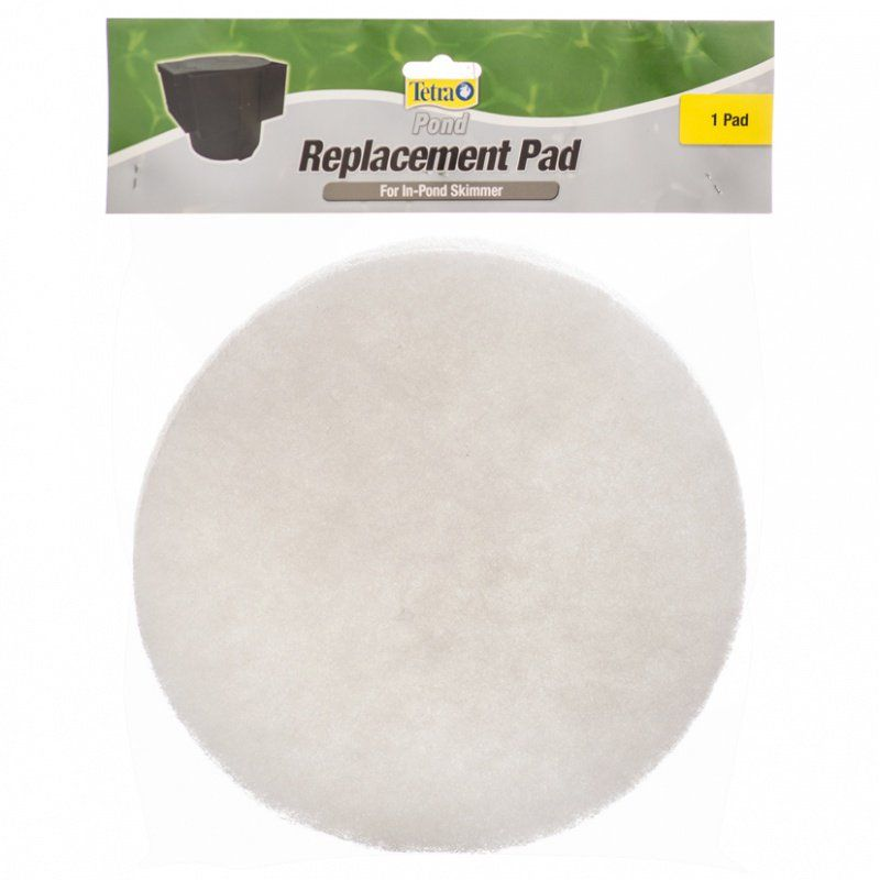 Tetra pond tetra pond replacement pond skimmer filter pad for Pond filter basket