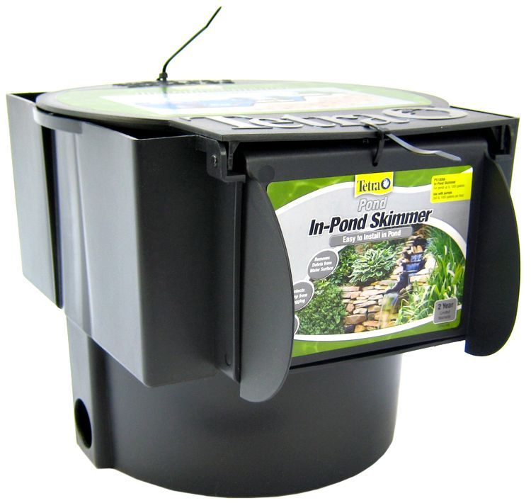 Tetra pond tetra pond in pond skimmer filters for Small pond filter