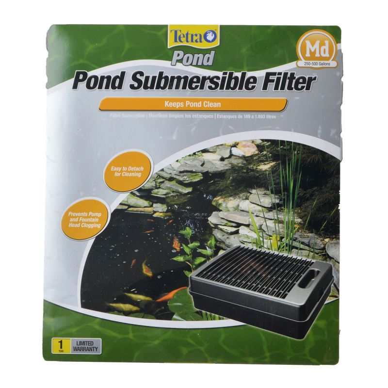 Tetra pond tetra pond submersible filter filters for Underwater pond filter