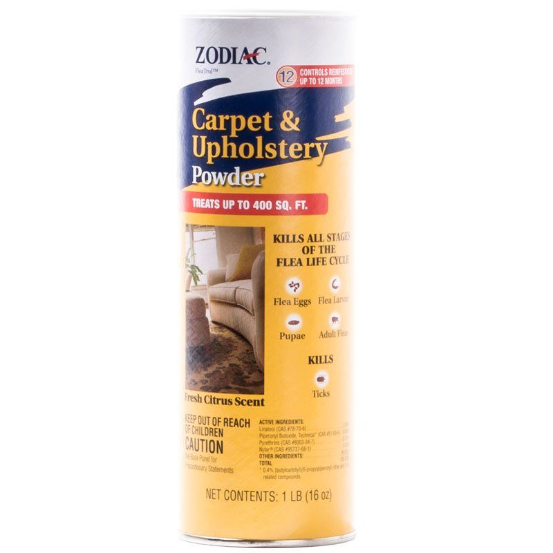 Zodiac Zodiac Flea Control Carpet Amp Upholstery Powder Flea
