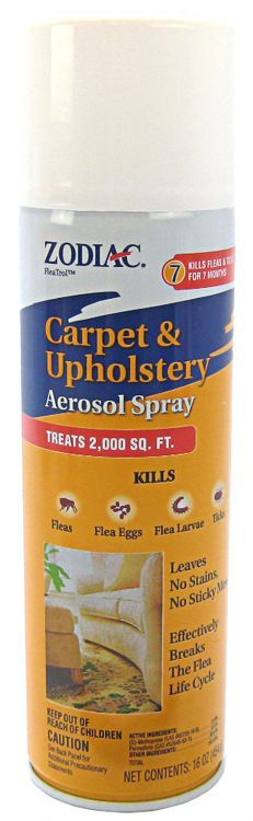 Zodiac Zodiac Carpet Amp Upholstery Aerosol Flea Spray Flea