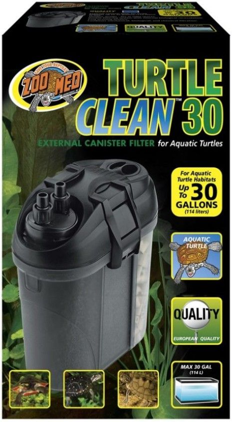 Zoo Med Zoo Med Turtle Clean Canister Filter 511 Filters ...