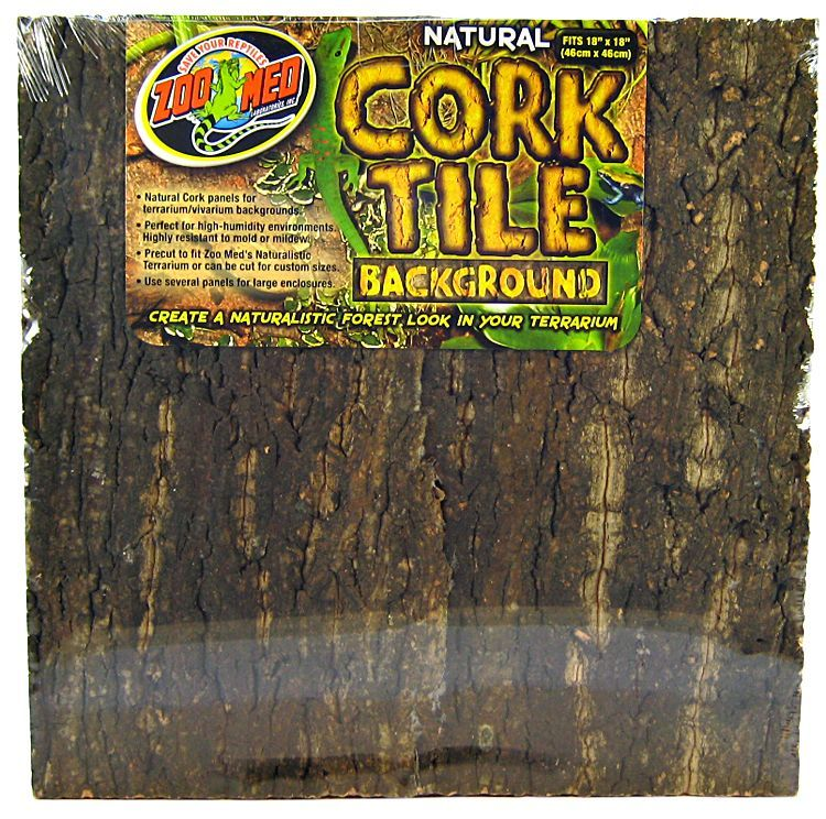 Zoo Med Zoo Med Natural Cork Tile Terrarium Background