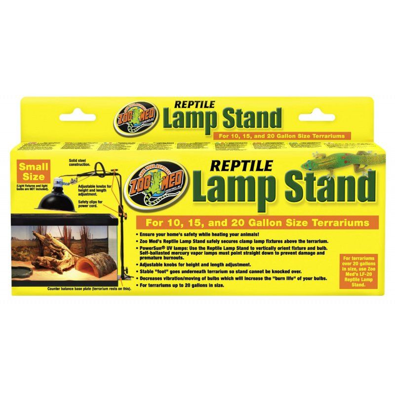 Zoo Med Zoo Med Economy Reptile Lamp Stand Reflectors Amp Domes