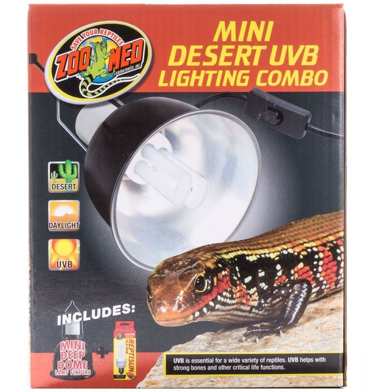 Zoo Med Zoo Med Mini Desert Uvb Lighting Combo Lighting