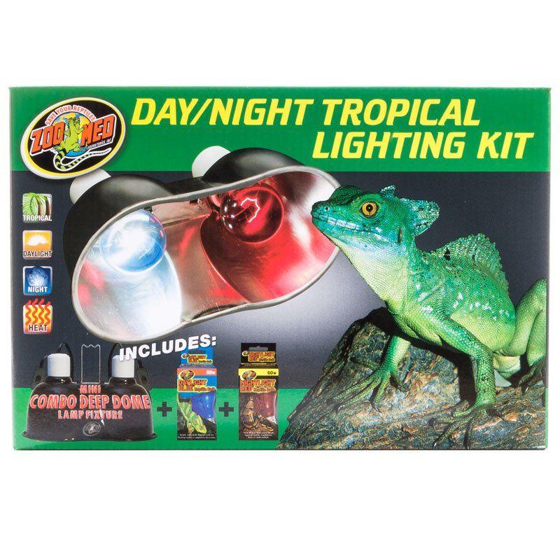 Zoo Med Zoo Med Day Amp Night Tropical Lighting Kit Lighting