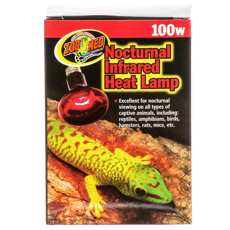 Zoo Med Zoo Med Nocturnal Infrared Heat Lamp Lighting Incandescent