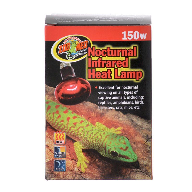 Zoo Med Zoo Med Nocturnal Infrared Heat Lamp Lighting