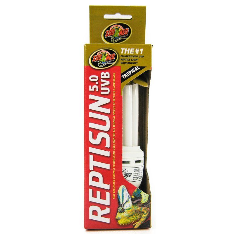 Zoo Med Zoo Med Reptisun 5 0 Uvb Mini Compact Flourescent