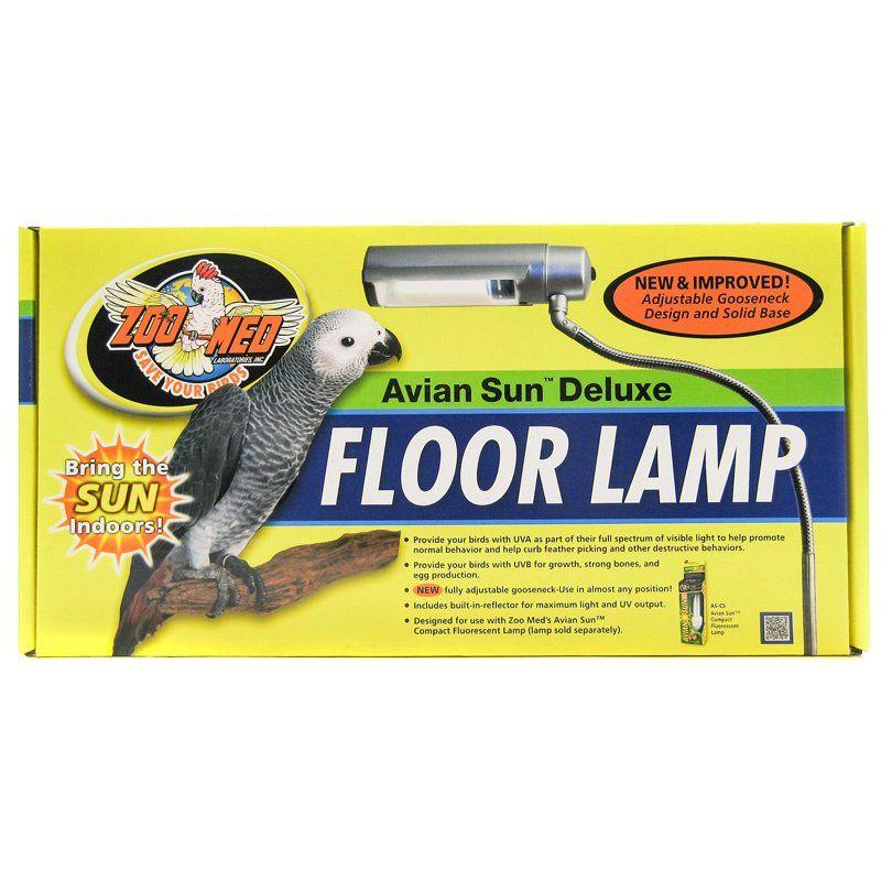 Zoo Med Zoo Med Avian Aviansun Deluxe Floor Lamp Miscellaneous