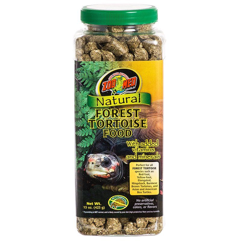 Zoo Med Zoo Med Natural Forest Tortoise Food Foods Dry