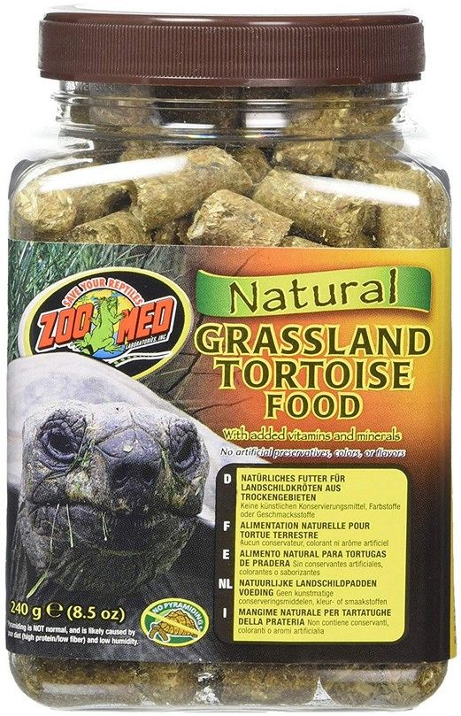 Zoo Med Natural Grassland Tortoise Food Size  Oz