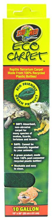 Zoo Med Zoo Med Eco Carpet Reptile Carpet Green Cage Carpets