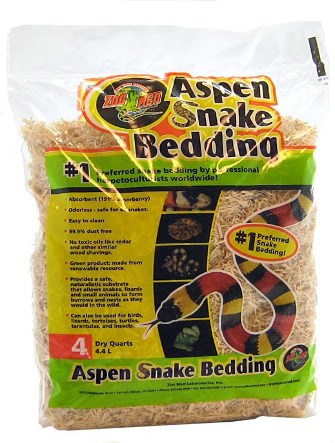 Zoo Med Zoo Med Aspen Snake Bedding Bedding