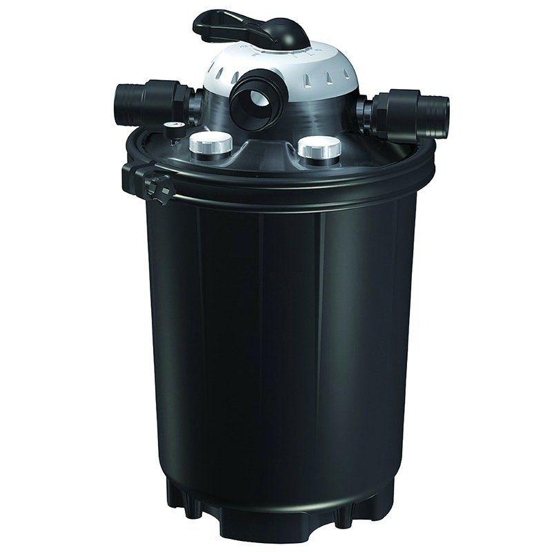 Pondmaster pondmaster clearguard pressurized uv pond for Pond filter accessories