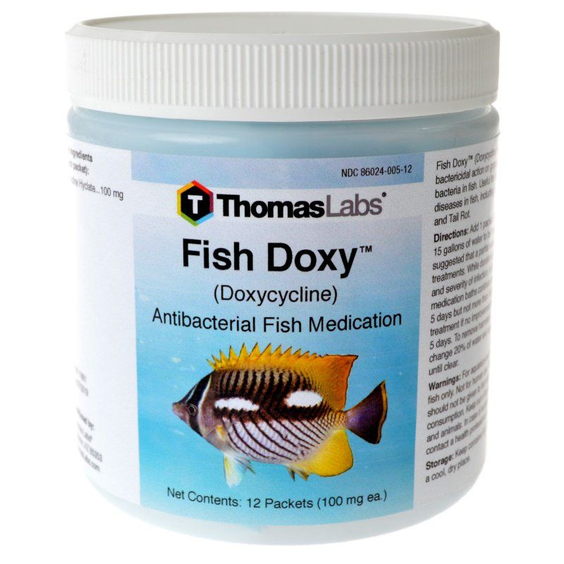 Thomas labs thomas labs fish doxy medications fw sw for Doxycycline for fish